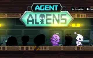 Mobile games: videogame  arcade  agent aliens