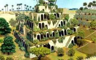 Storia: giardini pensili  babilonia
