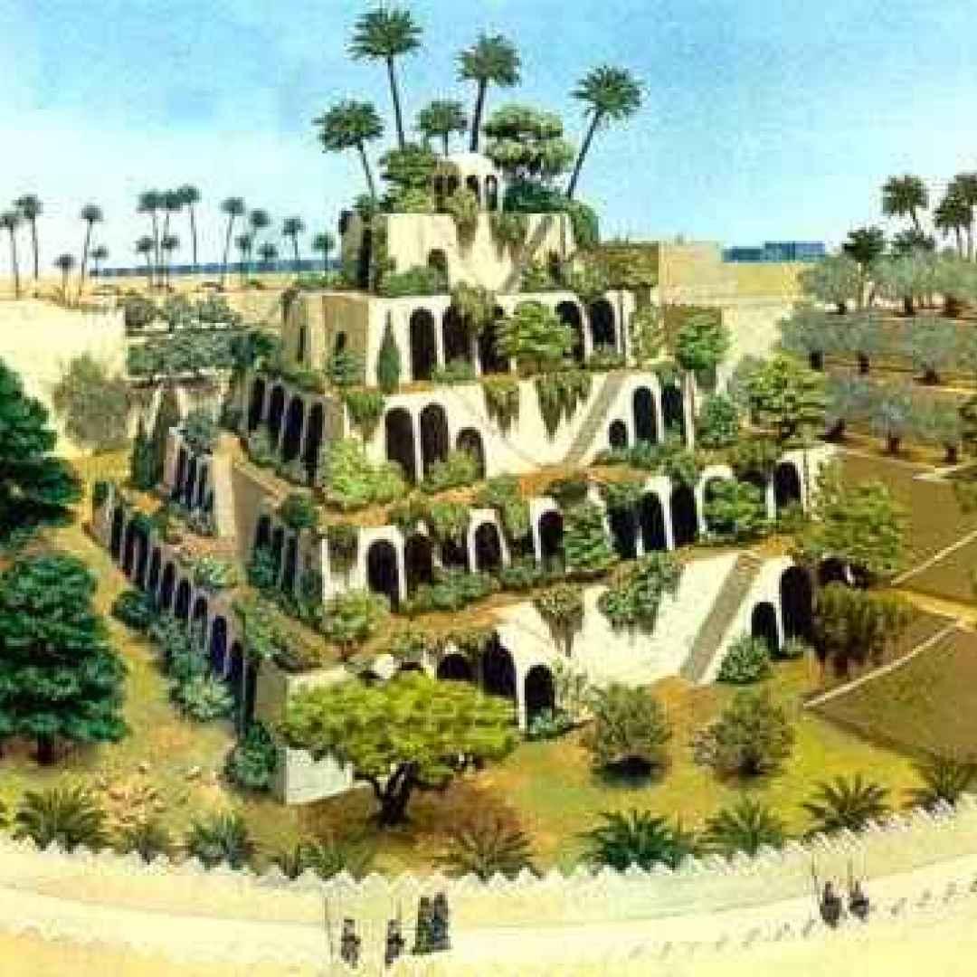 Una delle sette meraviglie i giardini pensili di for Giardini pensili