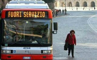 sciopero  atac  trasporto pubblico