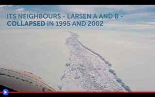 ambiente  scienza  catastrofi  ghiaccio