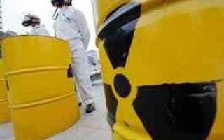 scorie radioattive  centrali nucleari