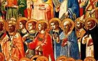 Religione: santi oggi  beati chiesa  calendario