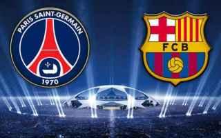 Champions League: barcellona  psg