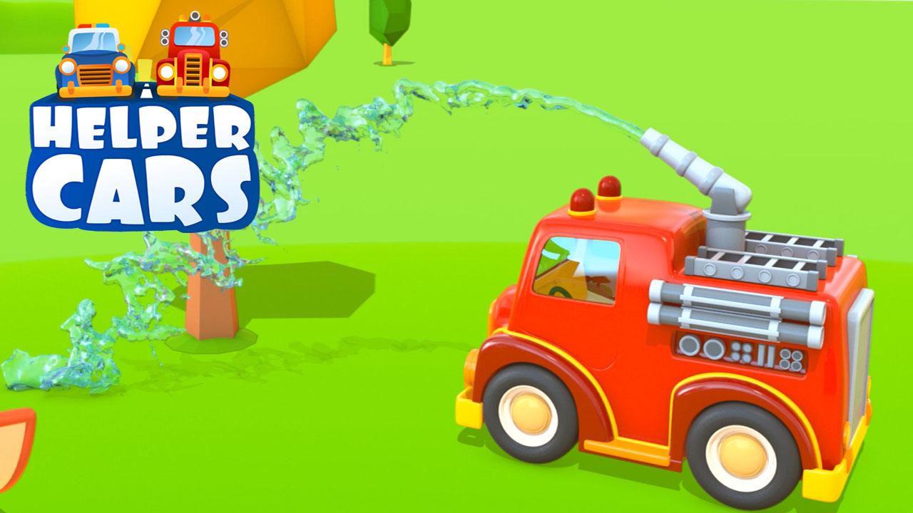 Cartoni animati per bambini il nuovo parco giochi e la