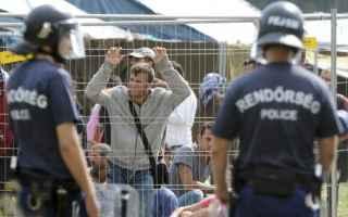 ungheria  hungary  migranti  refugees