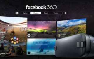 facebook 360  realtà virtuale  apps