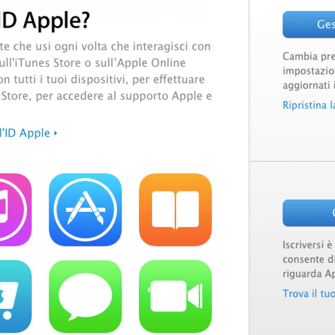 apple  id apple