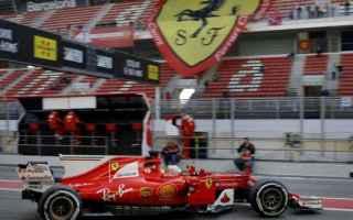 Formula 1: f1  ferrari  test  barcellona  vettel