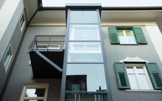 condominio  ascensore  barriere