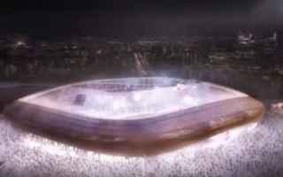 Firenze: stadio  fiorentina  progetto  nuovo