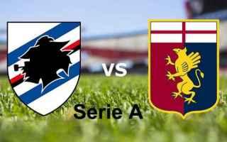 Serie A: genoa  sampdoria  streaming