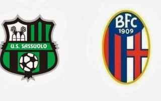 Serie A: sassuolo  bologna
