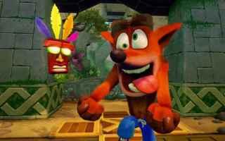 Console games: crash bandicoot  ps4
