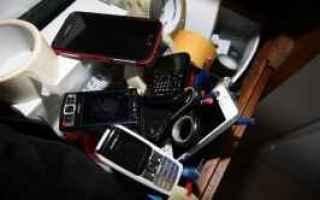cellulari  riciclaggio  rivendere