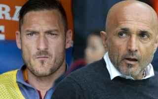 Serie A: totti spalletti roma
