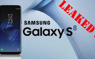 galaxy s8  galaxy s8+  s8 leaked