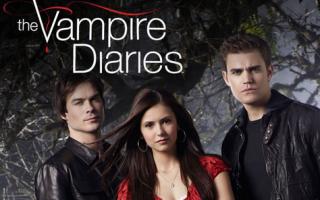 Televisione: tv  telefilm  libri  the vampire diaries