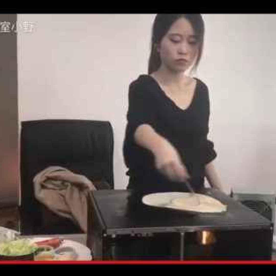 strano  divertente  lavoro  cucina