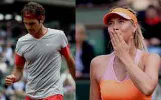 Tennis: tennis grand slam sharapova federer