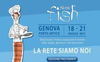 Gastronomia: slow fish  porto antico  genova