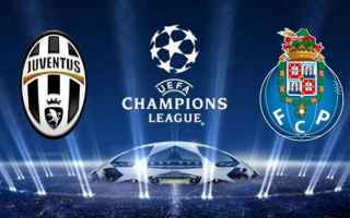 Champions League: juventus  porto  streaming  live
