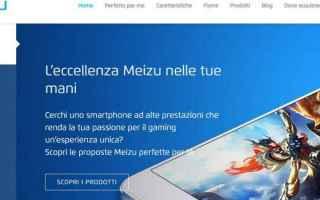 Cellulari: meizu  flyme  sito italiano  italia