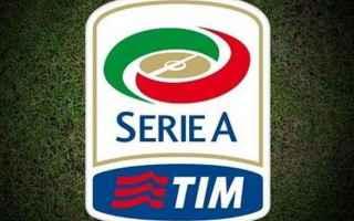 Serie A: serie a  partite  calcio
