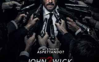 Cinema: john wick 2  cinema riccardo scamarcio
