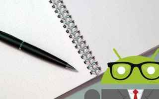 App: android  note  office  studio  lavoro
