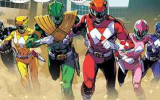 comic book  fumetti  power rangers