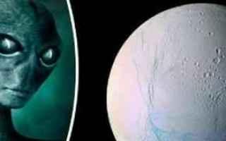 Astronomia: alieni  saturno  ufo