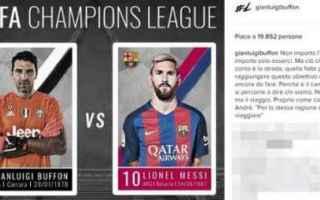 Champions League: juventus  sorteggio  barcellona  quarti