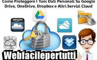 Sicurezza: cloud sicurezza dati