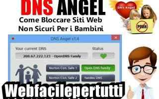 Sicurezza: dns angel sicurezza bambini