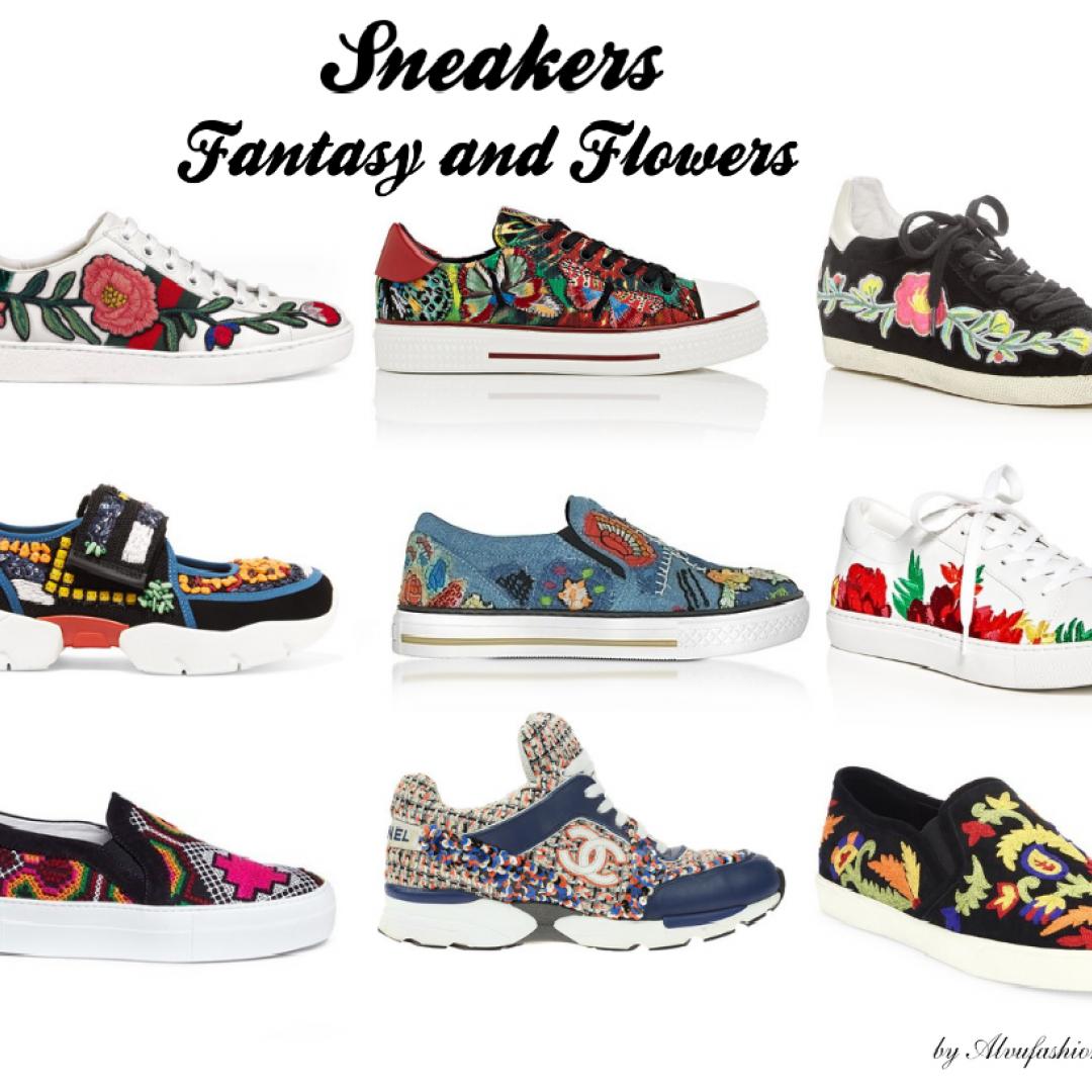 moda  tendenze  scarpe  sneakers