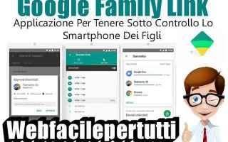 App: google family link app bambini