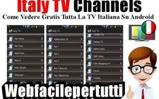 App: italy tv channels app streaming tv