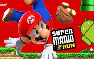 Mobile games: super mario run android  super mario run