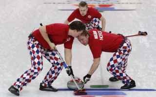 Sport Invernali: curling  sport  beatles  007