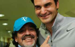tennis grand slam maradona federer