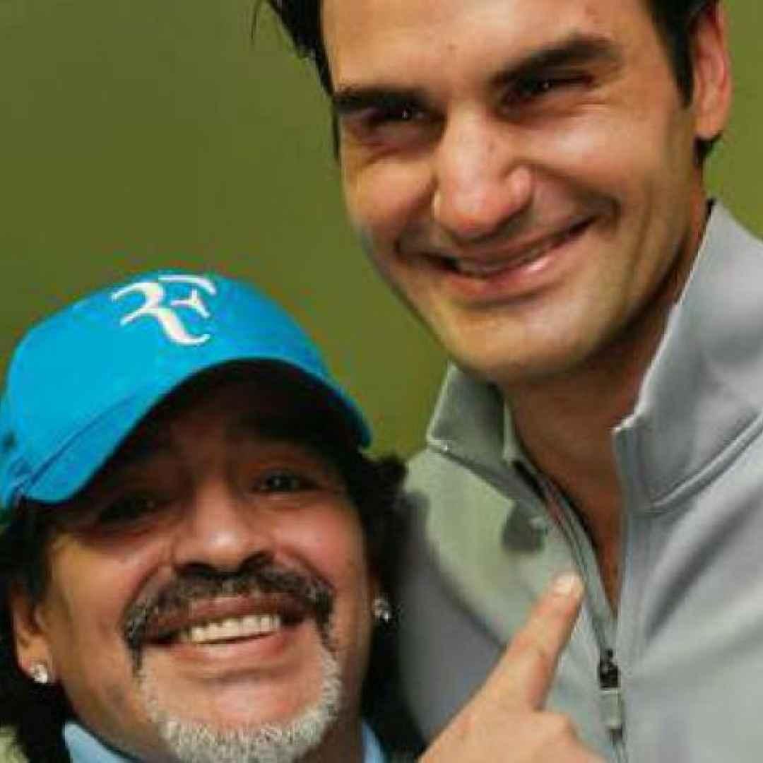 tennis grand slam maradona federer