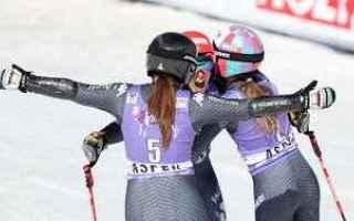 Sport Invernali: goggia  brignone  bassino  fisi  sci