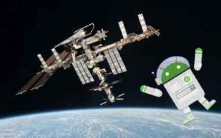 iss  android  spazio  nasa  astronomia