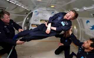 Astronomia: spazio  viaggio  stephen hawking