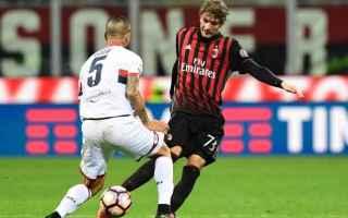 Fantacalcio: le Pagelle di Milan vs Genoa  finita 1 a 0