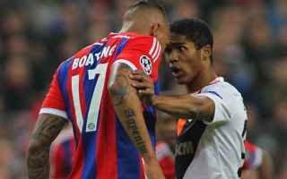 Calcio: Clamoroso infortunio per Douglas Costa