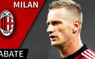 Serie A: milan  abate  serie a    calcio