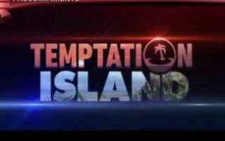 Televisione: temptation island  news  reality show