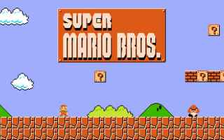 Mobile games: super mario run  super mario bros